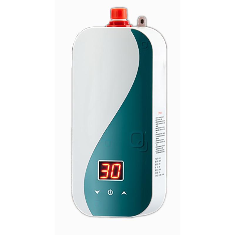Touch Heater Frequency Conversion Instant Heating Aquecedor Kitchen Mutfak Bathroom Water Calentador 5500W High Power XC01