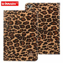 For Apple ipad mini 3 2 1 4 case fashionable leopard print Stand PU Leather Protective Case TPU back Cover for ipad mini 4 Coque стоимость