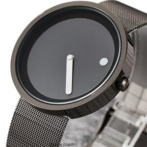 New men's quartz-watch Stainle