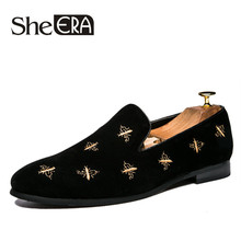 New Brand Men Loafers Moccasins Casual Shoes Men Business Dress Shoes Soft Leather Casual Flat Slip On Man Shoes Plus Size 37-43 цена