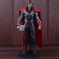 Super Heroes Marvel Thor Statue PVC Crazy Toys 1/6 th Scale Collectible Figure Model Toys for Boys 29.5cm