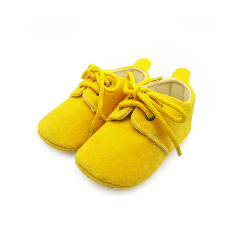 Solid Cotton Baby Shoes Lace Up Shallow Fashion Shoes First Walkers Handmade High Quality Baby Shoes For 0 2 Years Old 2017 in First Walkers from Mother Kids