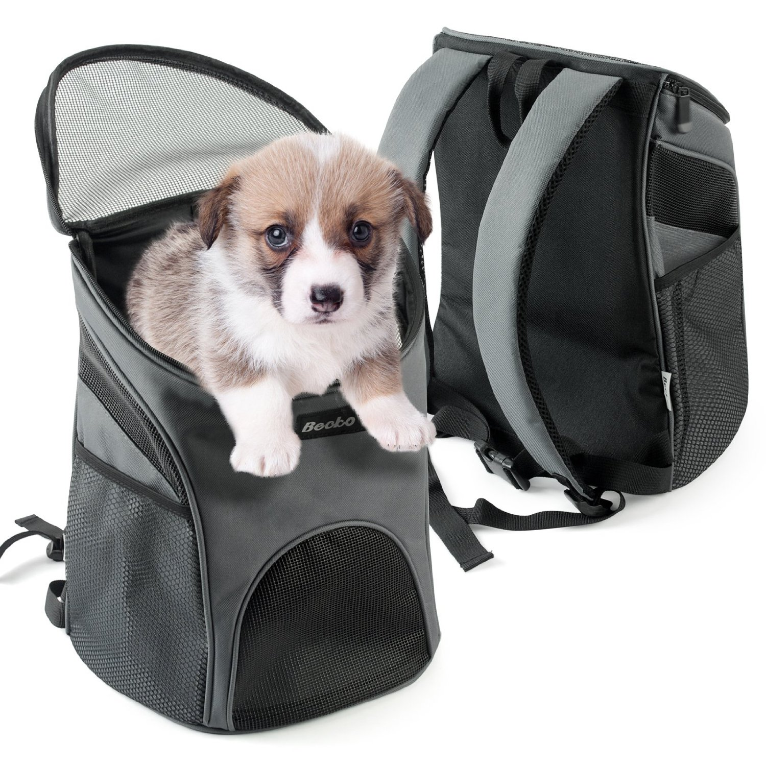 MDSTOP Cheap Pet Backpack Carrier Dogs Cats Rabbits Mesh Breathable Pack  Portable Travel Bag Transport Cage for Small Medium Dog-in Dog Carriers  from Home ... 5fd66f7f3cce
