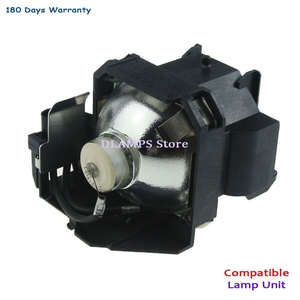 Image 2 - החלפת EMP 1700 EMP 1705 EMP 1707 EMP1710 1715/1717 EX100 1700c 1705c מקרן הנורה עם דיור V13H010L38 עבור EPSON