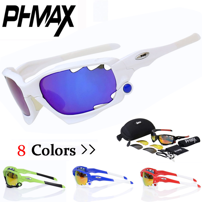 buy phmax 2017 new cycling glasses uv 400 3 lens mtb bike sunglasses tr90 frame. Black Bedroom Furniture Sets. Home Design Ideas