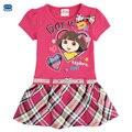Novatx девушки платья для девочек модные девушки партия принцессы детские платья девушки ребенок бантом одежда девочек одежда H4709