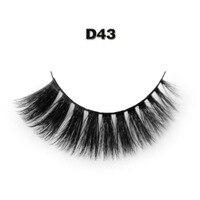 Free Shipping D43 Silk Natural Thick False Fake Eyelashes Eye Lashes Makeup Cosmetic Extension Tool