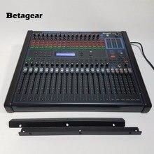 """Betagear цифровым микшером аудио DGM1640 16-канальный profissional звукомикшер встроенный 100 вид DSP эффект 1"""" стойку смеситель для сцены"""