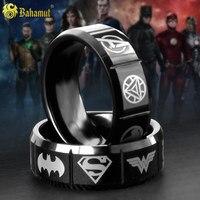Tungsten Ring Man Revenge Justice League Around Batman Iron Aegis Accessories