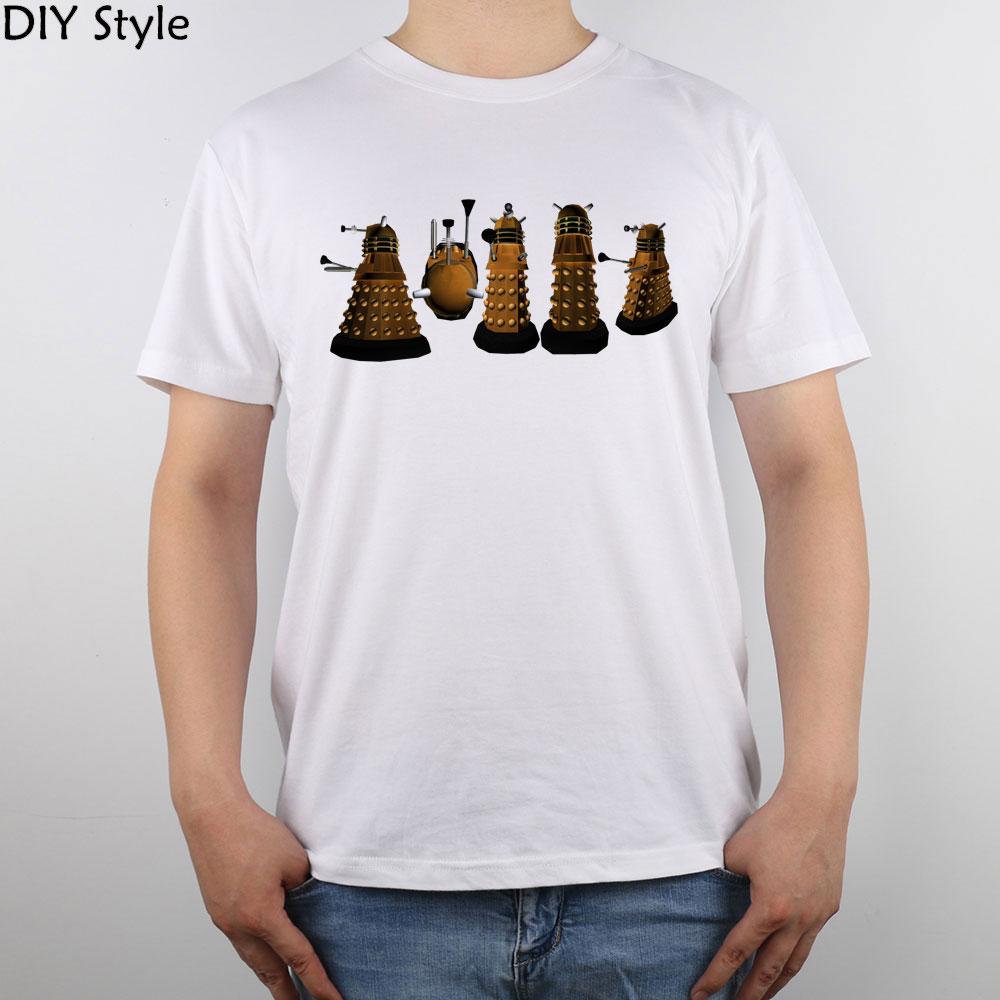 Doctor Who Dalek Exterminate t-shirt Top Pure Cotton Men T Shirt