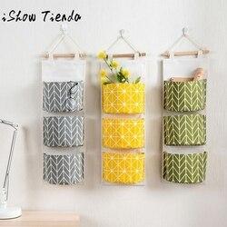 3 сетки настенная сумка для хранения Органайзер игрушки контейнер Декор Карманный мешочек Bolsa De Bolsillo Colgante # Q