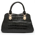 Clearance Price High Quality Handbags Famous Zency Brands Genuine Leather Crocodile Pattern Handbag Tote Bag