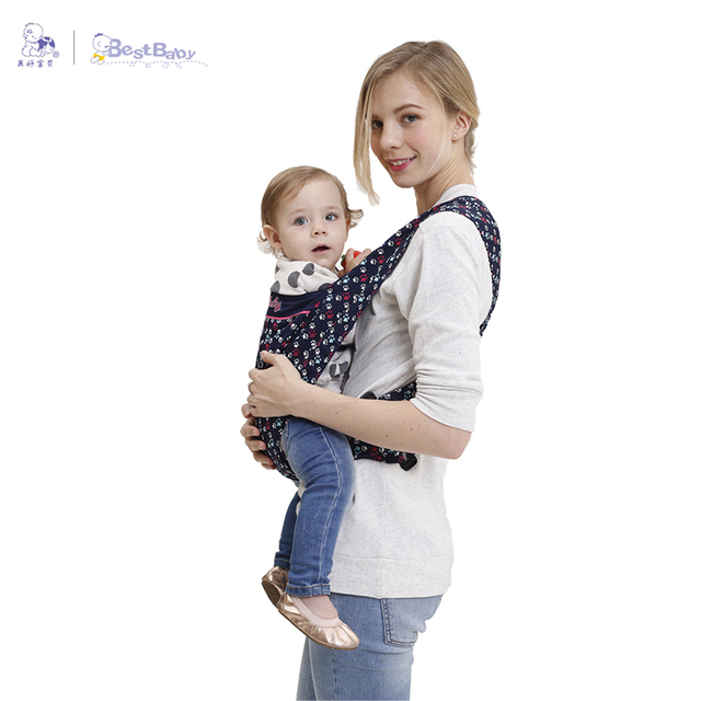Best Baby High Quality Baby Sling Wrap Kangaroo Carrier Ergonomic