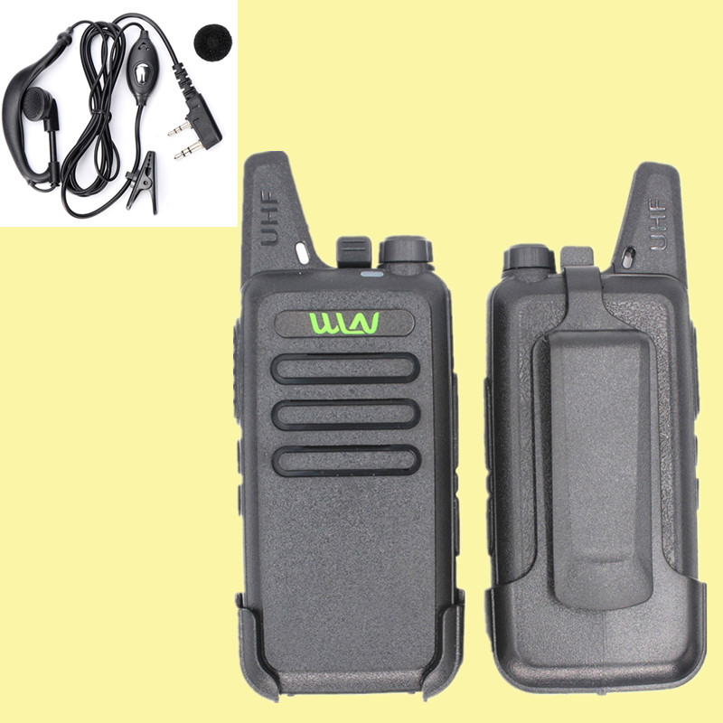 WLN KD-C1 Walkie Talkie UHF 400-470 MHz 5W Power 16 Channel  Kaili MINI Handheld Transceiver C1 Two Way Radio
