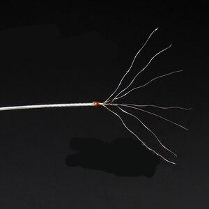 Image 3 - Linha de pesca do mar da tensão forte 7 fios de seda de aço inoxidável tecido anti mordida resistente ao desgaste do fio de pesca multi tamanho jc