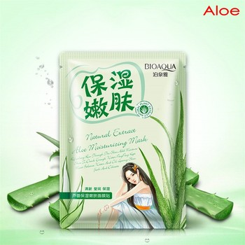 BIOAQUA Plant Extracts Aloe Face Masks Collagen Essence Facial Mask Moisturizing Firming Oil-control moistfull collagen