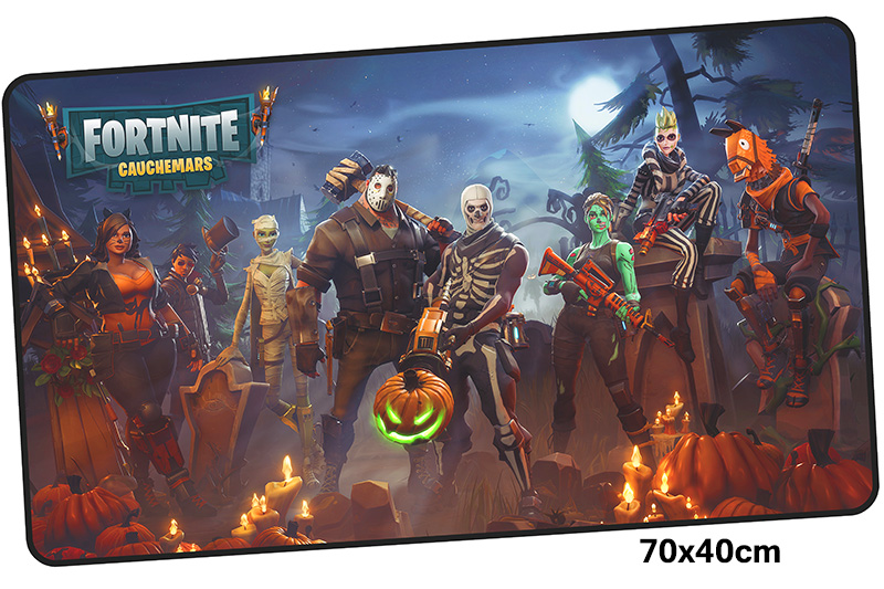 fortnite mousepad gamer 700x400X3MM gaming mouse pad large Mass pattern notebook pc accessories laptop padmouse ergonomic mat