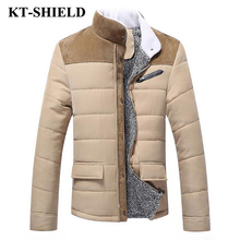 High quality Winter Parkas Men Jacket Thicken Warm Wool Outerwear Coats For Men Down Cotton Casual