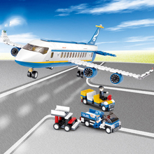New 2018 New B0366 Blue Airbus Airplane Model Building Blocks 463PCs/Set Educational Bricks Toy Brinquedos Menino Legoinglys lepin 15002 2133pcs new cafe corner model building kits blocks kid diy educational legoinglys children day gift brinquedos 10182