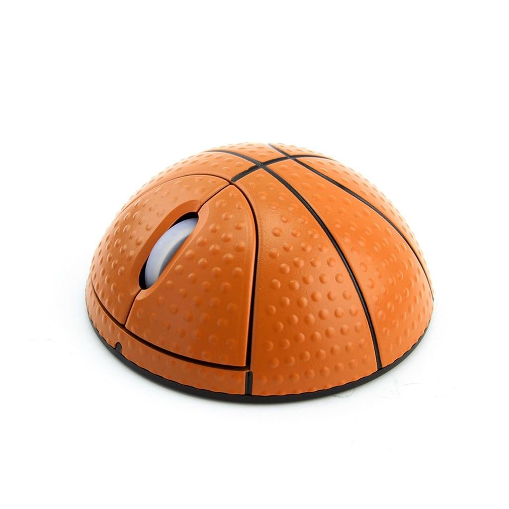 VOBERRY trend 2,4G фотоэлектрическая креативная Беспроводная баскетбольная мышь эргономичная 3D оптическая Спортивная мышь в форме баскетбола для ноутбука-3