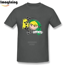Blink 182 Legend of Zelda Custom T-shirts Custom Short Sleeve 100% Cotton Personalized For Man Plus Size Tee Shirt