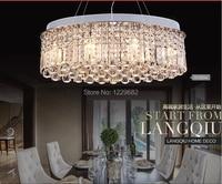 2014 modern simple design 70*32*65cm size bar crystal chandelier light for dining room hanging light for cofe restautant