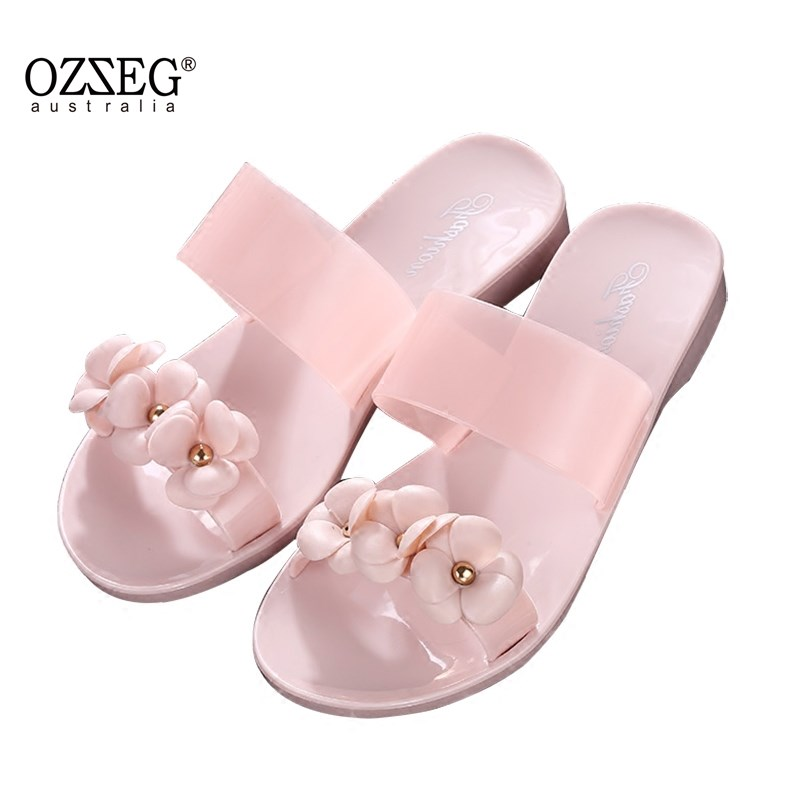 Flower slippers Women Sandals Fashion Summer Shoes Women Flat Sandals Flip Flops Sandalias Mujer Ladies Sandals fashion sandals women flower flip flops summer shoes soft leather shoes woman breathable women sandals flats sandalias mujer x3