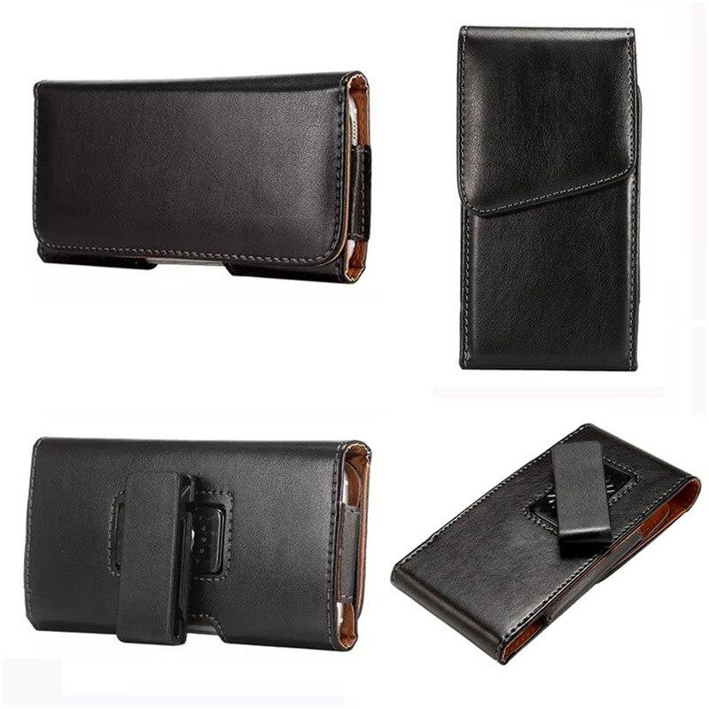 Флип Зажим для ремня чехол держатель жесткий кожаный чехол для Samsung Galaxy Note 7 5.5 дюйма Универсальный мобильный телефон защитный случаях