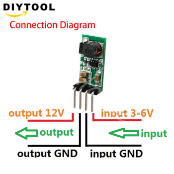 купить DC 3.3V 3.7V 5V 6V to 12V Step up Boost Power Supply Module Breadboard Development Voltage Regulator Converter For Arduino в интернет-магазине