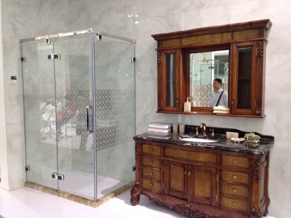 Vintage inspiration dosseret - Meuble salle de bain bois massif ...