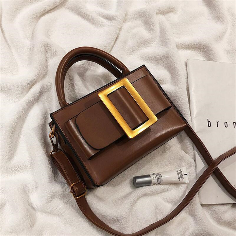 Famous Brand Crossbody Bags For Women High Quality Women Fashion 2019 Luxury Purse And Handbags Ladies Shoulder Messenger Bags-in Top-Handle Bags from Luggage & Bags