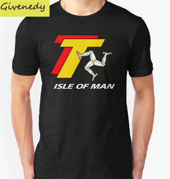 2016 Verano 100% algodón TOURIST TROPHY-ISLA DE MAN TT hiphop camisa de la impresión t camisa manga corta camiseta humor divertido tees