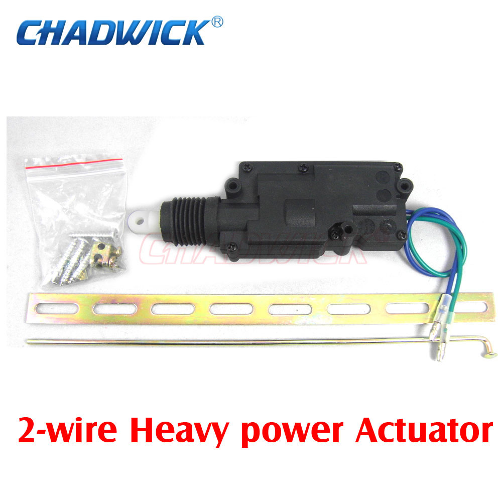 Car Auto Universal Heavy Duty Power Slave Door Lock Actuator Motor 2 Wiring System Wire 12v Japanese Central