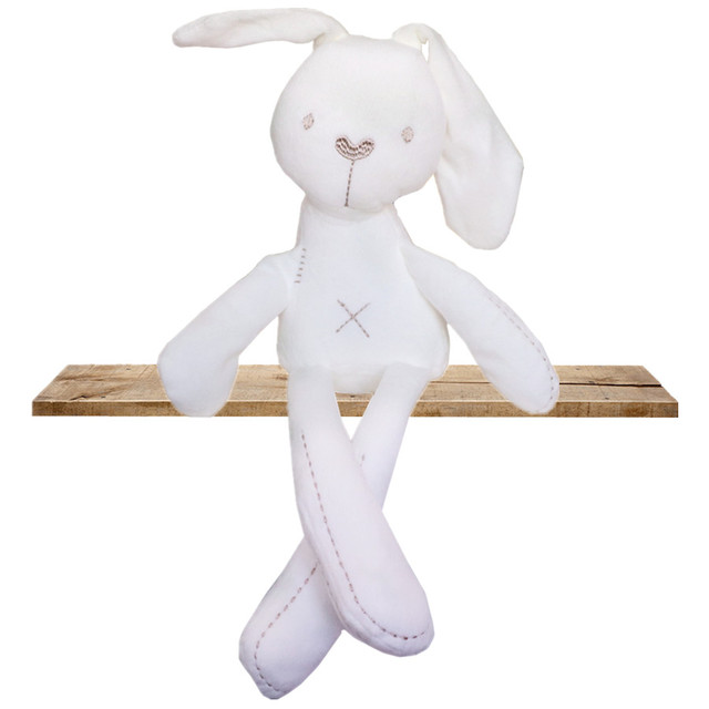 Hot-Bán Trẻ Em Dễ Thương Bunny Ngủ Người Bạn Đời Bé Mềm Đồ Chơi Sang Trọng Cô Gái Thỏ Ngủ Thoải Mái Búp Bê Đáng Yêu Khỉ