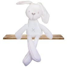 Hot Selling Cute Children Bunny Sleeping Mate Baby Soft Plush Toy Girl Rabbit Sleeping Comfort Doll