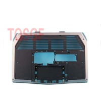 NEW Bottom Base Cover Bottom Case For Dell ALIENWA M13X CR1W9 0CR1W9 Black