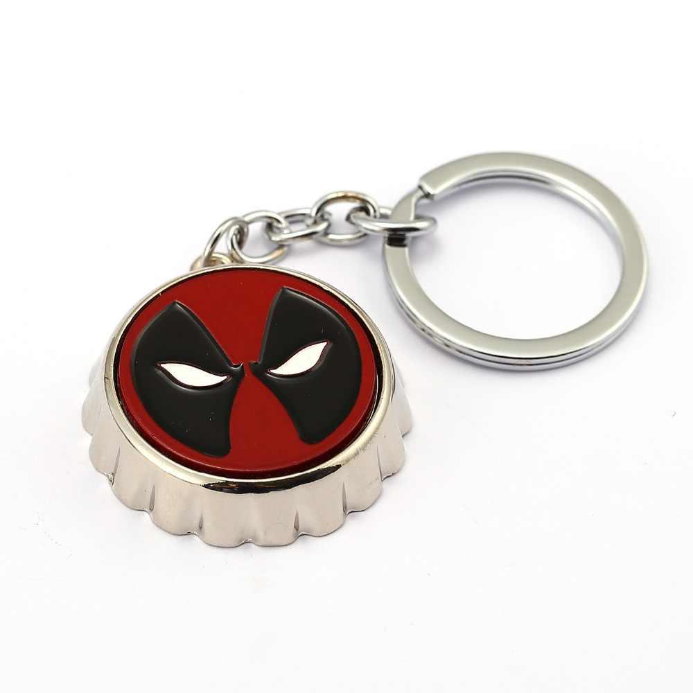 Wade Deadpool 2 Chaveiros X-Men Pingente Anel de Metal Chave Titular Cadeia llavero Chaveiro Saco Chave Do Carro Dos Homens de Super-heróis Jóias filme