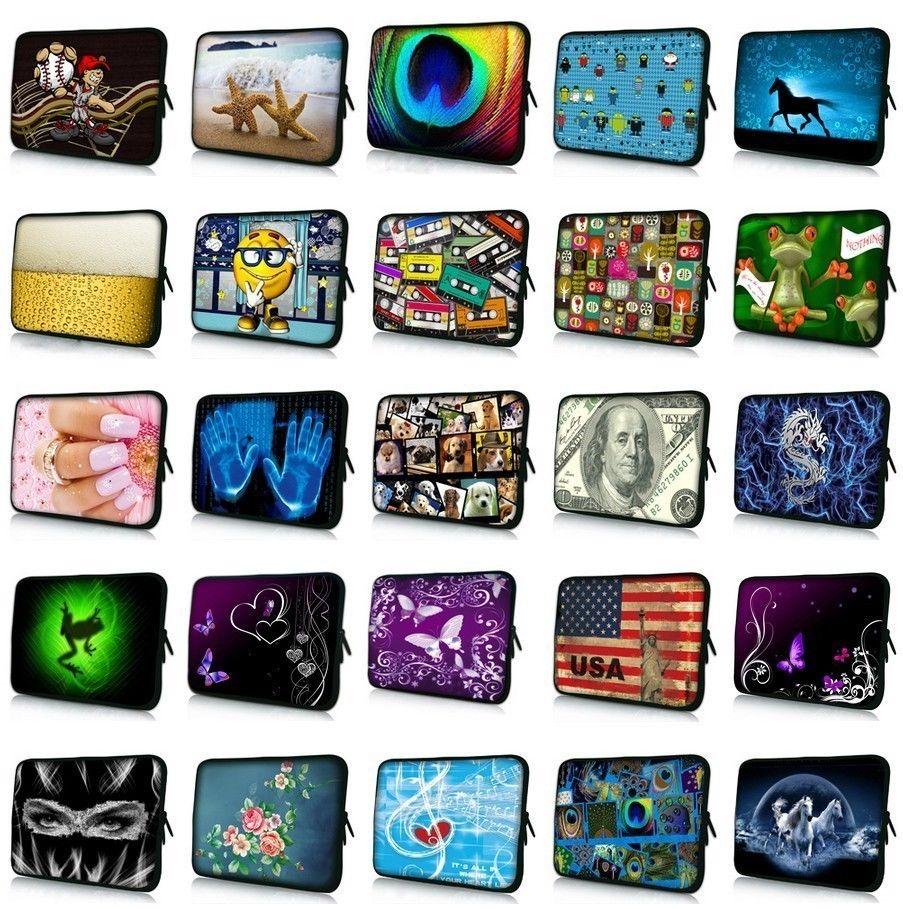 10.1 11.6 13 13.3 14.4 15.4 15.6 17.3 inch Van Gogh Print Laptop Bag Sleeve Notebook Cover Case For Macbook Air/Pro/Retina