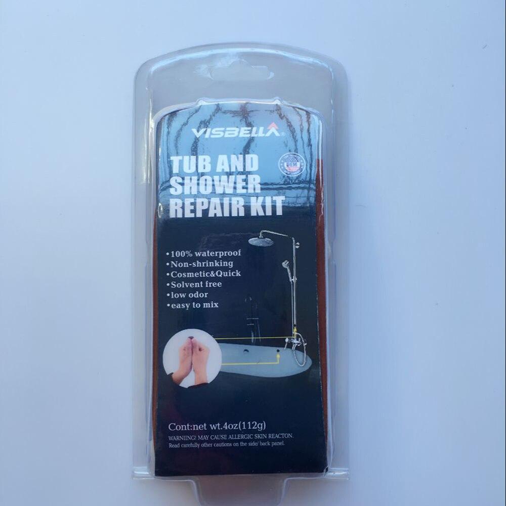 Visbella DIY Tub and Shower Repair Kit Bath Crock Bathtub Repair ...