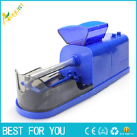 2pcs/lot Cigarette Tobacco Electric Cigarette Rolling Machine Red or blue or black rolling filters papers ROLLER