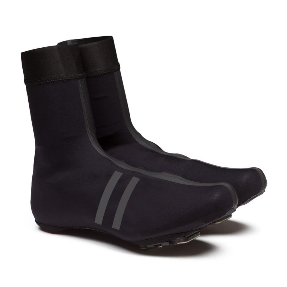SPEXCEL nowy czarny odblaskowy pro team Rain Overshoes Race lekki pokrowiec na buty softshell na zimne i mokre warunki