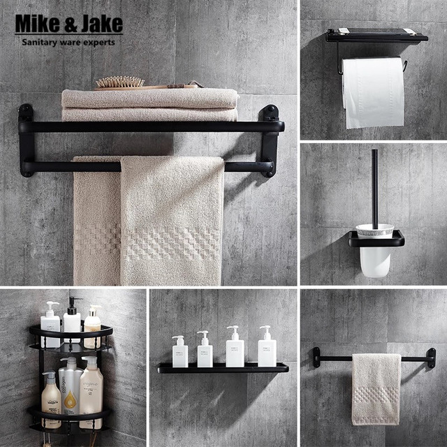 black bathroom towel shelf kit black towel shelf paper holder towel shelf bathroom shelf black bathroom