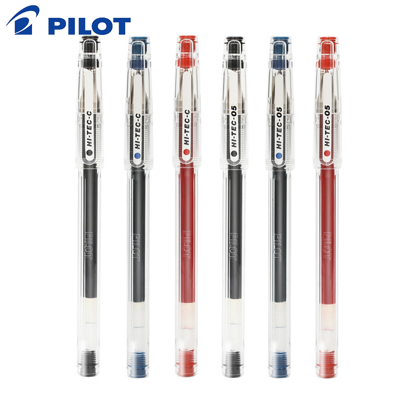 Stylo Gel pilote 1 pièces pointe aiguille hi-tec 0.3/0.4/0.5mm fournitures d'écriture papeterie pour école et bureau Finance stylo
