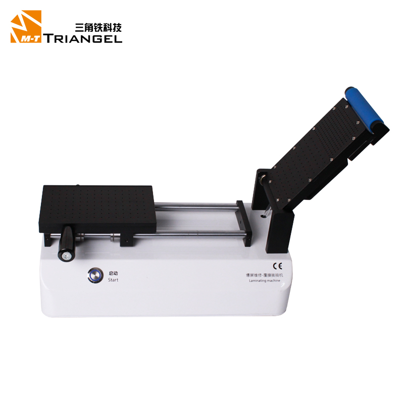 Free shipping Semi-Automatic OCA Polarizer Film Laminating Machine For iPad Samsung iPhone LCD Glass screen Repair refurbished