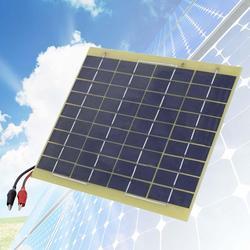 Akumulator do panelu słonecznego 5 Watt 12 v na akumulator samochodowy do ładowania plecaka w Ładowarki od Elektronika użytkowa na