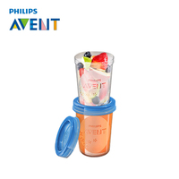 AVENT 5pcs 240ml Box Milk Powder Formula Dispenser Leche Portable Food Container High Quality Melkpoeder Dosificador