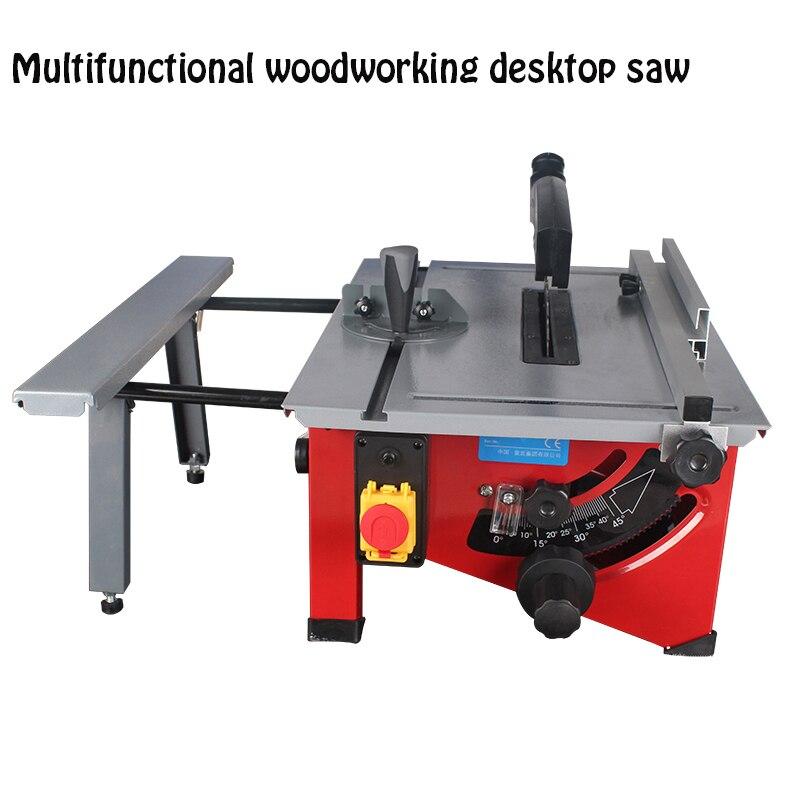Máquina Eléctrica de sierra de mesa de carpintería multifunción de corte de ángulo de ajuste de la máquina de fabricación de sierra de madera - 2