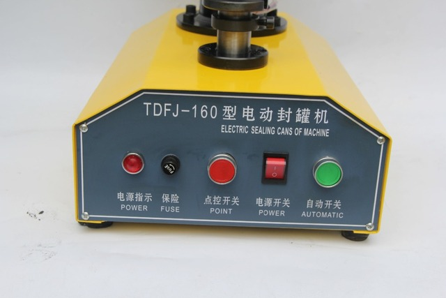 Good quality automatic round can sealing machine for all kinds of circular iron cans