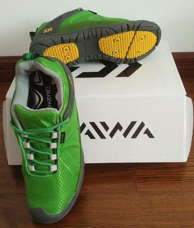 2017 NOUVEAU DAIWA De Pêche chaussures Anti-dérapage Respirant lumière Homme Alpinisme sport DAWA extérieur DS-2100QS DAIWAS Livraison gratuite