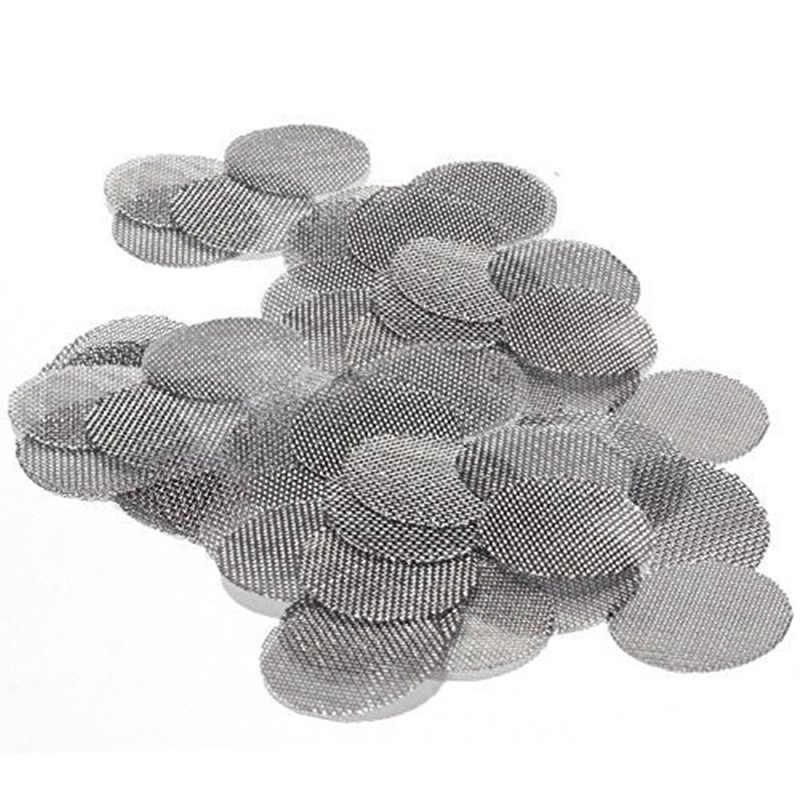 肥厚多機能水ギセル水パイプステンレス鋼タバコ喫煙金属フィルター煙パイプ画面ガーゼ